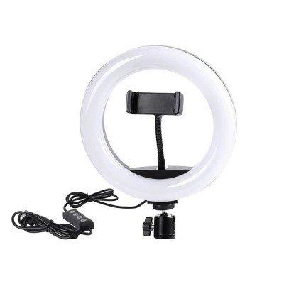 Кольцевая LED лампа D10 26...