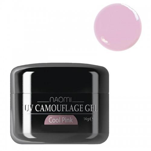 Гель Naomi камуфлюючий, рожевий Cool...