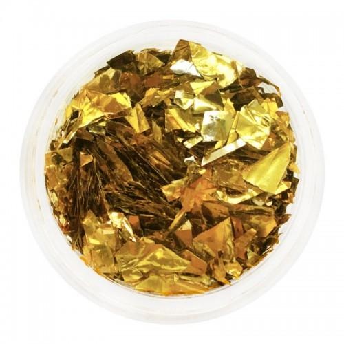 Слюда золото в баночці