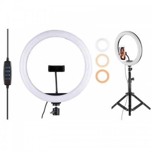 Кольцевая LED лампа 32 см. LC-330,...