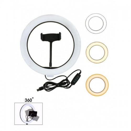 Кільцева LED лампа 26 см. FW-260,...