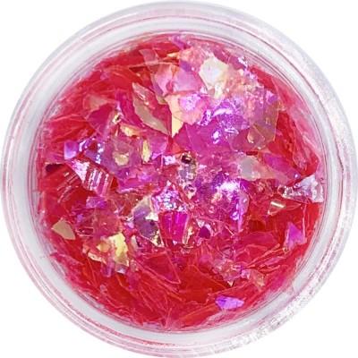 Слюда ярко-розовая в баночке