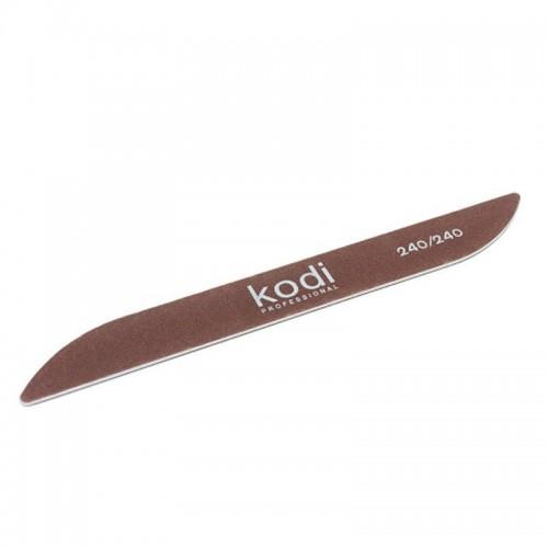 "Пилка Kodi ""Бумеранг"" коричнева 240/240"