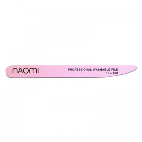 Пилка-ніж рожева Naomi 180/180