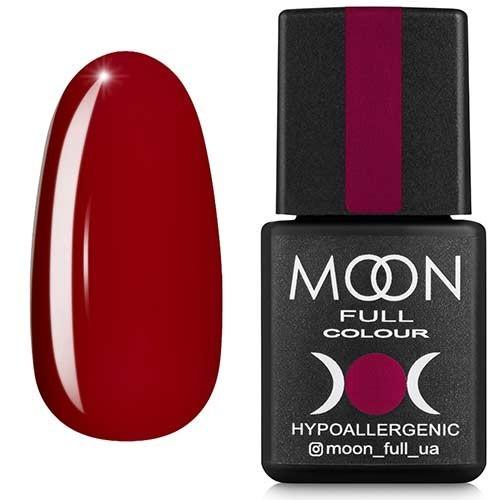 Гель-лак Moon Full №143, 8мл. (вишневый)