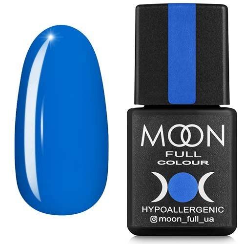 Гель-лак Moon Full №182, 8мл. (лазурный)