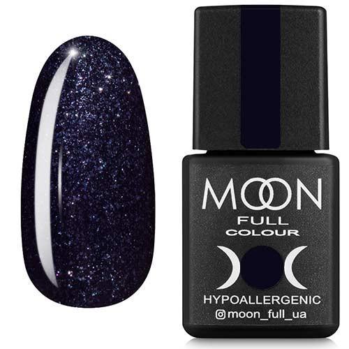 Гель-лак Moon Full №189, 8мл. (черный...