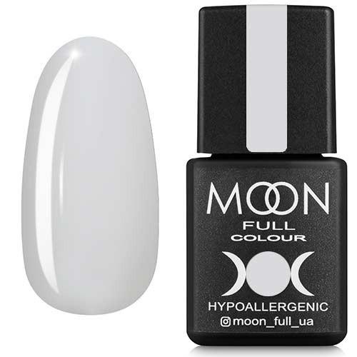 Гель-лак Moon Full №201, 8 мл. (білий...