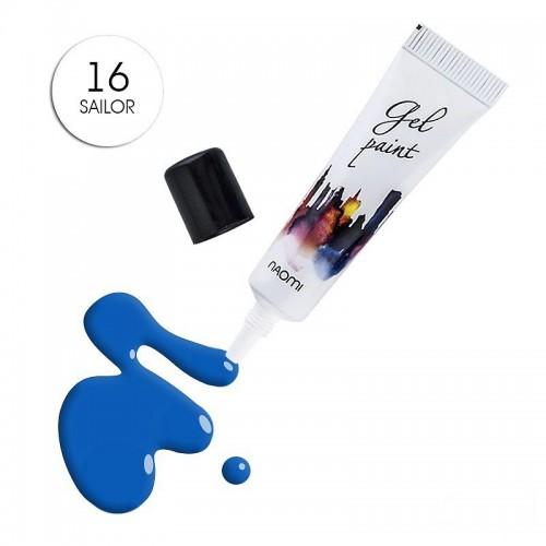 Гель-паста Naomi № 16 Sailor синій, 10 г