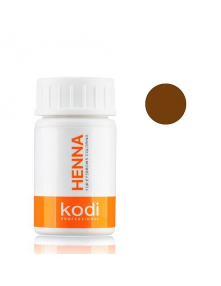 Коричневая хна 10г для окрашивания бровей Kodi Proffesional