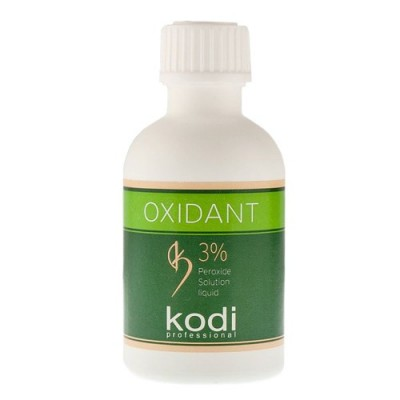 Оксидант 3% для краски бровей и ресниц Kodi Proffesional, 50 мл.