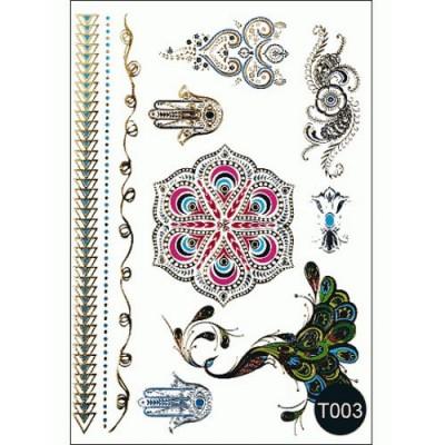 Наклейки на тело Tattoo Style T003 Kodi