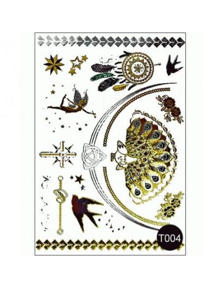 Флеш тату Tattoo Style T004 Kodi