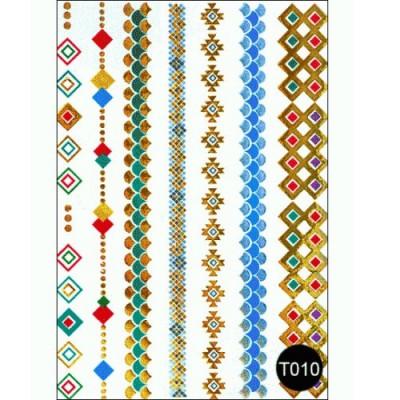 Наклейки на тело Tattoo Style T010 Kodi